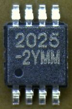 MIC2025-2YMM High Side MOSFET Switches For Power Distribution