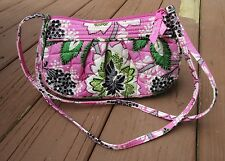 Vera Bradley Retired  Priscilla Pink Quilted Small Crossbody Shoulder Bag Purse