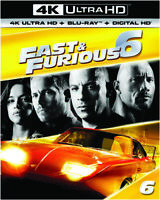 Fast & Furious 6 [New 4K UHD Blu-ray] With Blu-Ray, UV/HD Digital Copy, 4K Mas