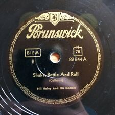 Bill Haley - Shake, Rattle And Roll / Dim The Lights - 1955 Schellack