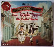 LIKE NEW - Le Nozze Di Figaro Mozart Sir Colin Davis 3 CD Box Set w/book