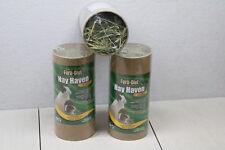 3x - Forti-Diet Kaytee Hay Haven Medium Foraging Treat Small Animals Rabbit Rat