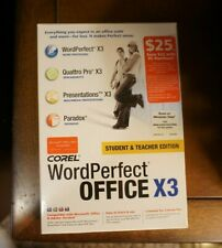 Corel WordPerfect Office X3 Student and Teacher Edition 2006