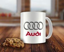 AUDI car logo Coffee/TEA MUG Kaffee/Tee Kaffeetassen Becher Geschenk