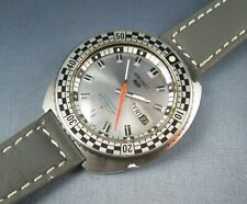 Vintage Seiko 5 Rally Sports Stainless Steel Mens Watch  21J 1970 6119-7170