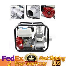 3 Portable Gasoline Water Pump 75 Hp 210cc Gas Powered Semi Trash Water Pump
