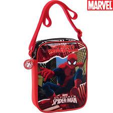 Borsa Tracollina Borsetta con Tracolla Regolabile Bambino Pvc Marvel Spiderman