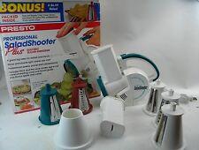 Presto Salad-Shooter Plus Electric Slicer Shredder (02910)  (T5)