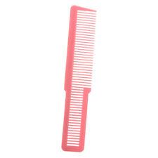 """Barber Comb Flat Top Clipper Comb - Klein 8 """"lang - Clipper Comb Pink"""