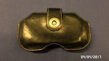 1930M Horizontal Treo Covertec Black Leather Case w/Rotating Belt Clip