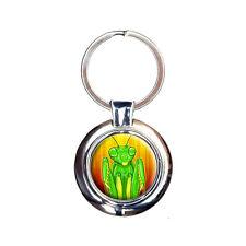 Praying Mantis Sees You Keychain Key Ring