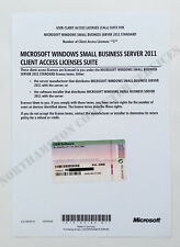Windows Small Business Server 2011 SBS Standard OEM 5 User CALS 6UA-03599 - VAT