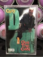 Clay D Out The Can Cassette Tape 1993/94 Miami Bass Rap Hip Hop Florida Vintage