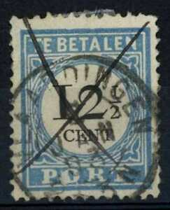 Netherlands 1881-94 SG#D168b 12.5c Postage Due P12.5 Type III Used Cat£36#E84651