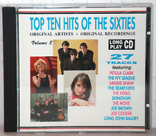 CD TOP TEN HITS OD THE SIXTIES Vol.2 - Kinks-Ohio Express u.v.a.