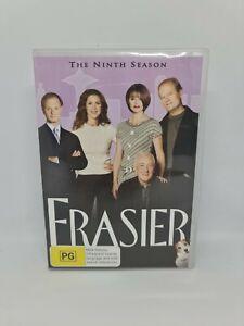 FRASIER Season Nine DVD Region 4 TV Show Very Good Condition FREE SHIPPING