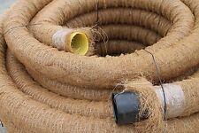 50 m Drainagerohr DN100 gelocht mit Kokosfilter 50 Meter Kokos ummantelt DN 100