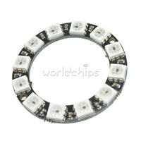 12-Bit RGB LED Ring WS2812 5050 RGB LED Integrated Driver Module For Arduino