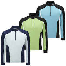 Callaway Golf Mens LS Water Resistant Thermal 1/4 Zip Pullover 46% OFF RRP