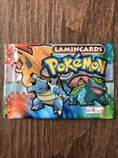Pokemon Lamincards Booster Pack - New And Sealed - 6 Cards Per Pack - Nintendo