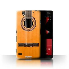 STUFF4 Case/Cover for Sony Xperia C4/Guitar/Wood/Wooden Acoustic