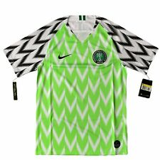 Nigeria Home 2018 2019 Wwc Football Shirt Authentic Nike Adult Small - S
