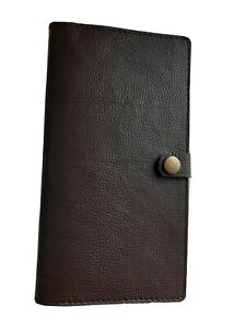 Real Leather Brown Double SGC/FAC holder with stud.