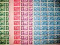 ROOSEVELT SET ~ MNH! Scott # 930 - 933  1945  1¢ 2¢ 3¢ 5¢ FDR ISSUE  - 50 Stamp