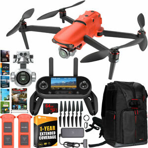 Pro Drone Quadcopter II 6K Combo Extended Warranty Extra Battery Kit