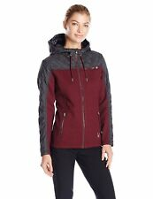 Spyder  Ardour Mid Weight Stryke Jacket, Burgundy/Grey, sz Women's XXS MSRP-$199