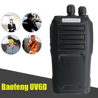 BAOFENG UV6D Two Way Ham Radio Dual Band 400-480MHZ UHF 128CH Walkie