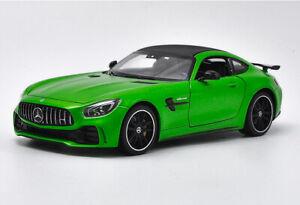 Welly 1:24 Mercedes Benz AMG GT-R GTR Diecast Model Racing Car New in Box Green