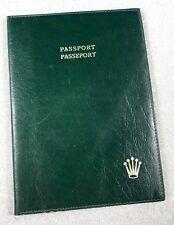 ROLEX Vintage Wallet Document Passport Holder Submariner Sea-Dweller GMT Daytona