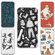 For iPhone 11 Flip Case Cover Snowboard Set 1