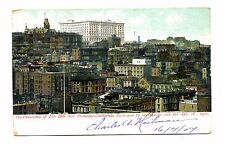 Nob Hill Panorama San Francisco California Vintage 1907 Rare Postcard Ca