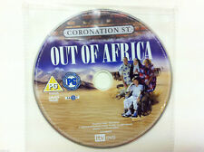 Coronation Street - Out Of Africa DVD R2 PAL - DISC ONLY in Sleeve