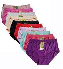 "10pcs Lady's Bamboo Fiber Underwear Women's Panties SZ US XL 30""-38""10 Colors"
