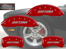 2006-2010 Dodge Charger R/T DAYTONA Front Rear Red MGP Brake Disc Caliper Covers