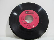 "45 RECORD 7"" SINGLE - JOEY DEE & STARLIGHTERS- WHAT KIND OF LOVE IS THIS"