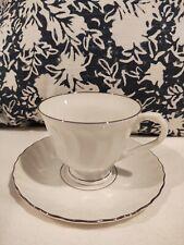 Syracuse China Wedding Ring Teacup & Saucer