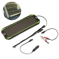 Sealey Solar Power Panel 12V Trickle Battery Charger Car Van Boat Caravan Camper