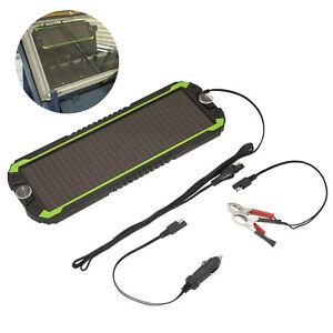 Sealey Solar Power Panel 12V Trickle Battery Charger Car Van Boat Caravan Camper