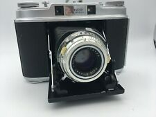 Ansco Super Speedex 6x6 Rangefinder Folding Camera w/ Solinar 75mm f/3.5 Lens