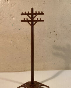 """Lionel 6-37851 7"""" Standard Telephone/utility Poles Lot Of 10 …No Box"""