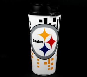 Brand NEW NFL Licensed Team HYPE Logo 32 oz Acrylic Travel Mug Cup You Pick Team