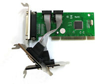 PCI 2 Serial RS232 DB9 & 1 Parallel ports card Low Profile