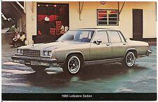 1980 Buick LeSabre Sedan Automobile Advertising Postcard