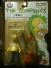 Original  SIMPSONS figure series : HOMER , by MATTEL (1990), MIP blister yellow