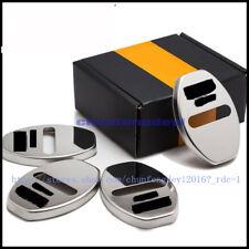 For AUDI A4 A3 A6 C5 Q7 Q5 A1 A5 80 TT A8 Q3 4pcs steel Car Door Lock Covers