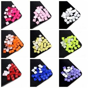 10mm Creative Mixed Color Mosaic Glass Mirror Inlay Tiles Phone Beauty DIY 50g
